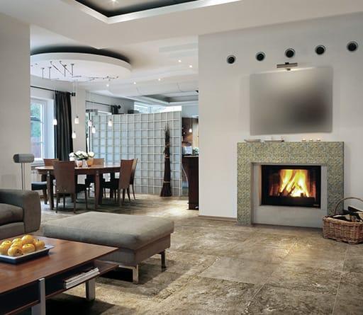 Stonefire Kitchen: Living Room Ceramic Tiles